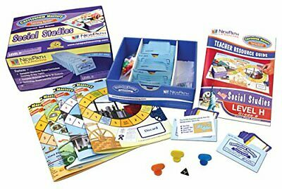 NewPath Learning Social Studies Curriculum Mastery Game, Grade 8-10, Class Pack