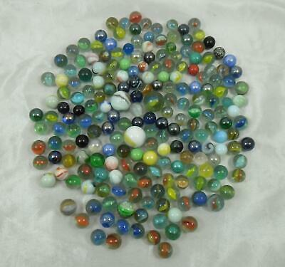 Collection of Approximately 200 Mixed Marbles - Collectable Toys Job Lot 3