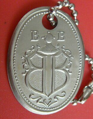 Vintage Charge Coin Tag: BOGGS & BUHL Dept Store Pittsburgh PA; KeyChain; Brass
