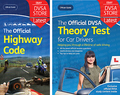 DVSA Car Theory Test Book 2019 and Highway Code Book