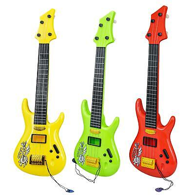 """19"""" Kids Childs Acoustic Rock Guitar Toy Musical Instrument with Guitar Pick"""