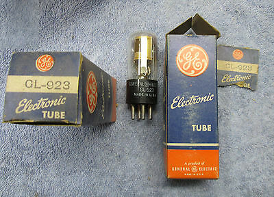 Lot of Three GE GL  973  Tube  New Old Stock / New In Box UNTESTED!