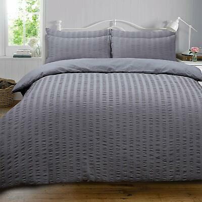 Duvet Cover with Pillow Case Bedding Set, Charcoal Dark Grey warm comfy
