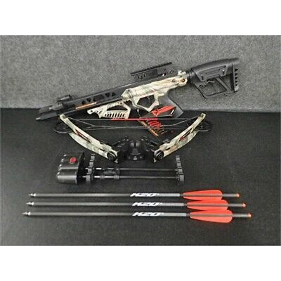 Karnage Apocalypse Q4 Package 175lb Draw, 4x32mm Crossbow Package, Camo