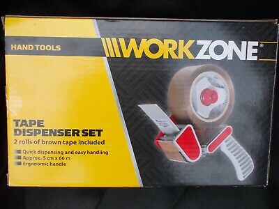WORKZONE  Tape Dispenser with 2 rolls of tape