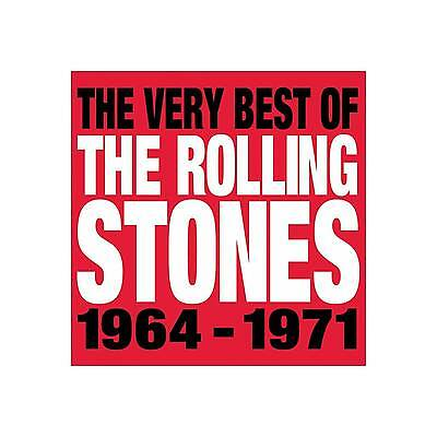 The Very Best of the Rolling Stones 1964-1971 by The Rolling Stones (CD,...