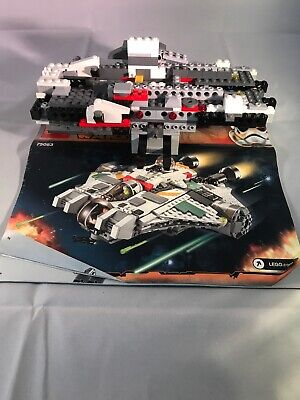 LEGO Star Wars The Ghost (75053) Partial Ship & Manual #2 No Minifigures