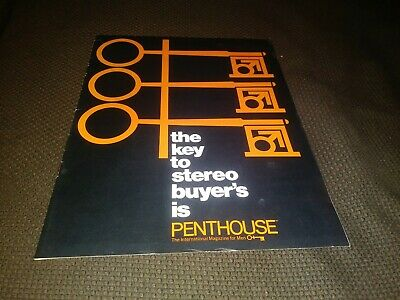 Vintage Stereo Buyer's Guide from Penthouse