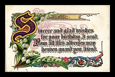 Dr Jim Stamps Us Birthday Glad Wishes Embossed Topical Greetings Postcard