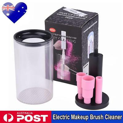 SALE Electric Makeup Brush Cleaner And Dryer Set Includes Brush Collar Stand Kit