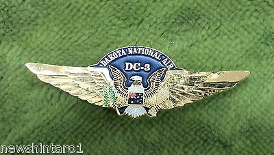 #Dd.  Dc3  Dakota  National Air Lapel Badge