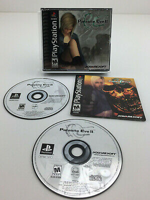 Parasite Eve II (2) Playstation Game PS1 PSOne Complete Squaresoft