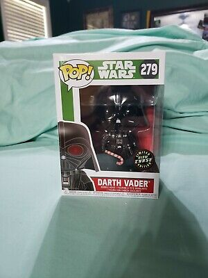 Funko Pop Darth Vader Christmas Exclusive Chase And Glow In The Dark
