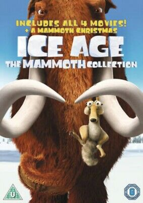Ice Age 1-4 plus Mammoth Christmas: The Mammoth Collection [DVD] ...