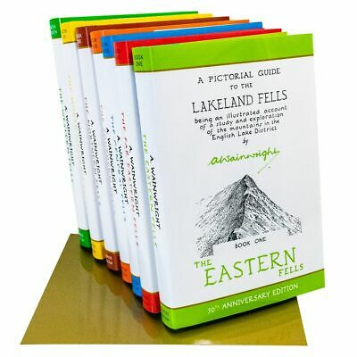 Pictorial Guide To Lakeland Fells 7 Books Collection Box Set 50th Anniversary