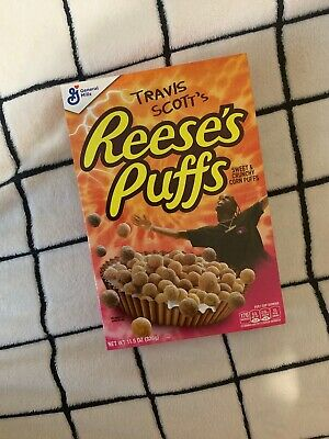 Travis Scott x Reeses Puffs Cereal 100% New Cactus Jack Sold Out Limited Edition