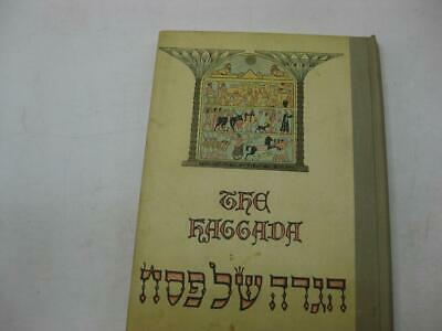 1969 LARGE Haggadah Illustrations by ZEEV RABAN Judaica Jewish  HEBREW-ENGLISH