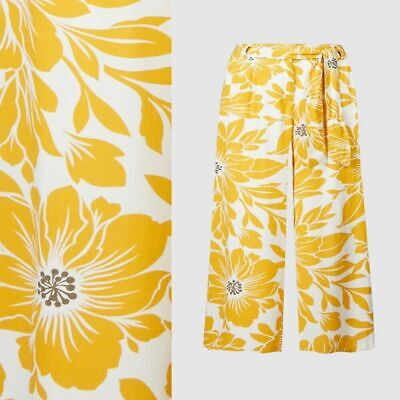 RRP £19.50 M&S Collection Floral Print Cropped Culottes                    (B55)