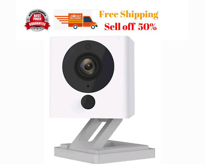 Wyze Cam 1080p HDIndoor Wireless Smart Home Camera with Night Vision 2 Way Audio