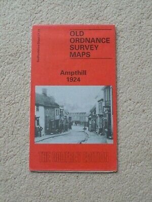 Reprint Of Old Ordnance Survey Map Ampthill 1924, The Godfrey Edition