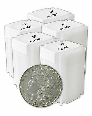 Pre 1921 Silver Morgan Dollar XF Lot of 100 S$1 Coins *Credit Card Payment Only