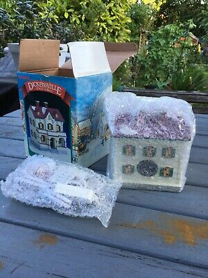 NOMA Dickensville Collectables Porcelain Lighted House 1996 BNIB