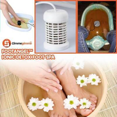 Footangel Ionic Detox Foot Spa Chi Cleanse Unit