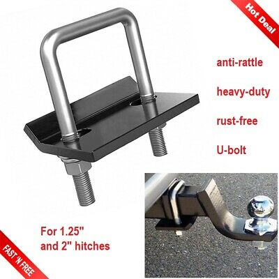 ELITEWILL 2 Heavy Duty Simple Hitch Tightener Clamp Anti Rattle Hitch Coupling Clamp