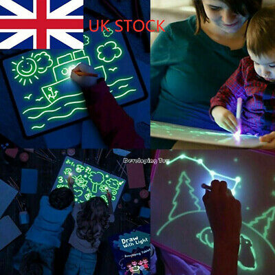 Magic Painting Draw With Light Fun And Drawing Board Educational Developing Toy