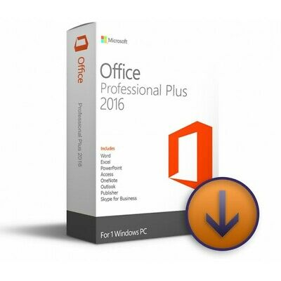Microsoft Office 2016 Professional Plus License Code Key Lifetime For Windown PC