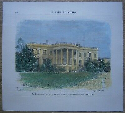1876 print WHITE HOUSE, WASHINGTON D.C. (#136)