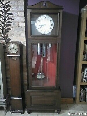 Westminster chimes longcase/ grandfather clock