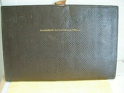 Wwii Us Army Air Corp Insert Navigation Case Type A-4