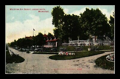 Dr Jim Stamps Us Whitefish Bay Resort Milwaukee Wisconsin View Postcard