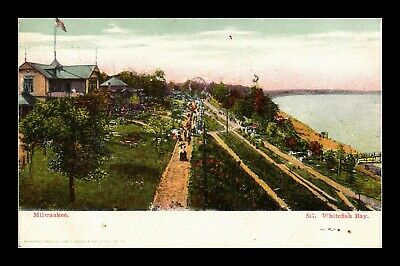Dr Jim Stamps Us Whitefish Bay Milwaukee Wisconsin View Postcard