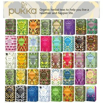 Pukka Herbal Organic Teas Tea Sachets