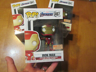 Funko Pop MARVEL AVENGERS IRON MAN # 467 EXCLUSIVE BOX LUNCH READY TO SHIP