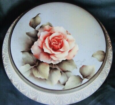 """Peggy Stogdill tole painting pattern """"Charlottes Rose"""""""
