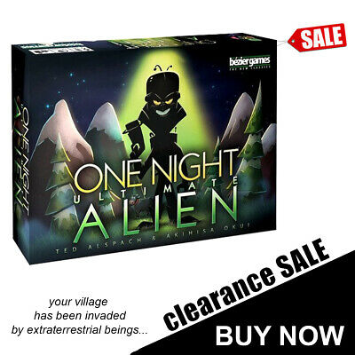 One Night Ultimate Alien 10 Min Card Game - Bezier Games
