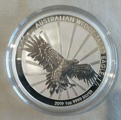 2019 Wedge Tailed Eagle1 oz Silver Coins (Encapsulated)