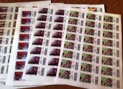 FRANCE 120 TIMBRES ADHESIFS LETTRES PRIORITAIRES 20Gr FACIALE 122€ REMISE 35% !!