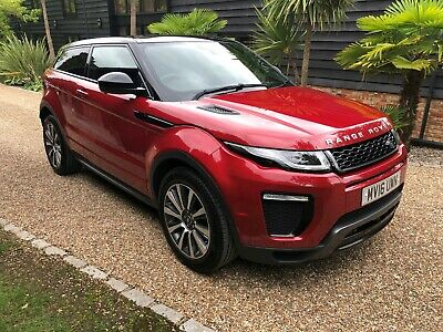 2016 Range Rover Evoque 2.0 Facelift Td4 Hse Dynamic Lux Coupe Red/Black 1 Owner