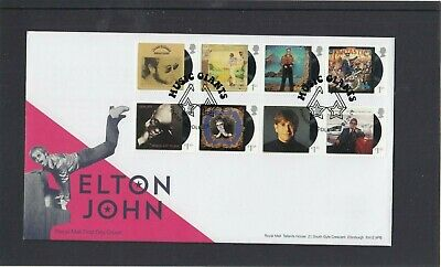 GB 2019 Elton John Royal Mail FDC First Day Cover Pinner Middlesex glasses spec