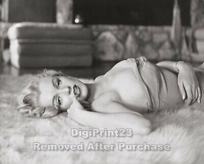 Marilyn Monroe Iconic Sex Symbol And Celebrity Actress - 8X10 Photo - Pr004