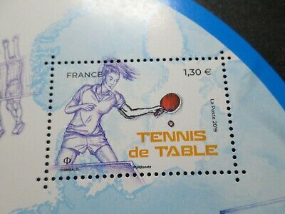 SPORT TENNIS DE TABLE FRANCE 2019, timbre neuf**, PING PONG, VF MNH STAMP