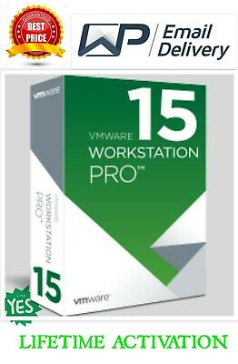 VMware Workstation Pro 15 ✔️ Full Version ✔️ Lifetime 🔑 5 PC ♕ Fast Delivery