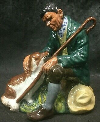 1966 Royal Doulton Character Figure The Master   Man with Dog Size 5 7/8""