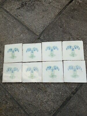 Antique Tile Rd No 595698 ideal for above the oven or sink Victorian art Nouveau