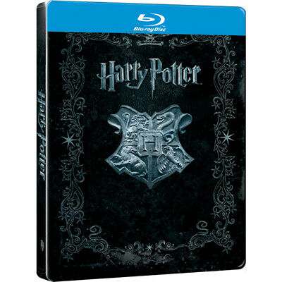 Harry Potter Coleccion Completa Blu-ray Metalica Steelbook NUEVO PRECINTADO