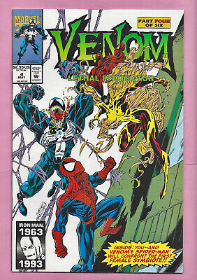 VENOM Lethal Protector #4 1st Scream NM riot LASHER Agony ABSOLUTE CARNAGE tie